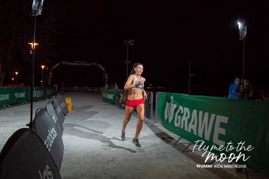 Grawe Noćni Maraton 2018 Silvia Šimunović