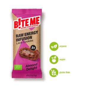 Biteme Cookie Almond delight raw bite