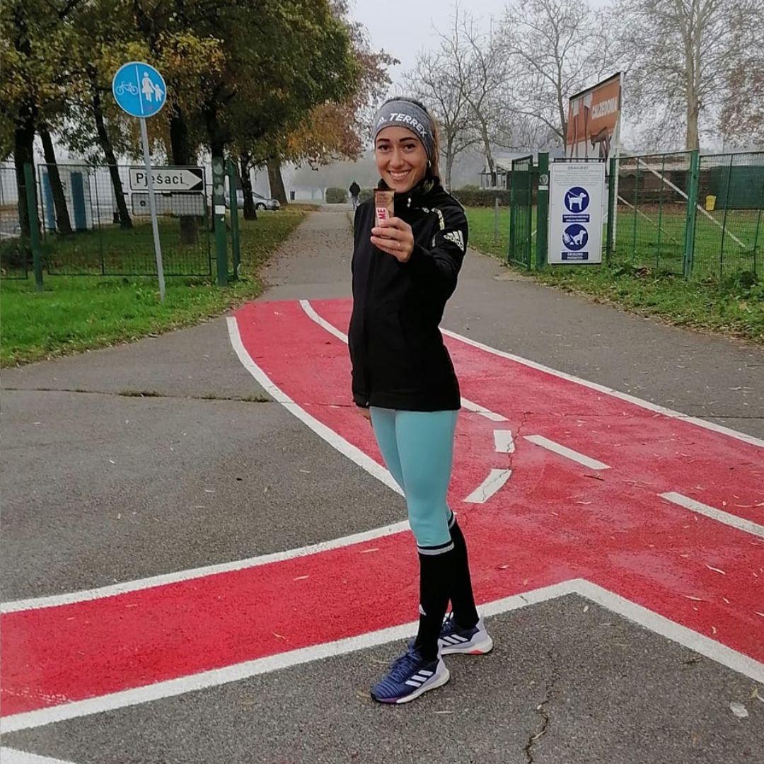 matea parlov kostro biteme ambasador marathon runner