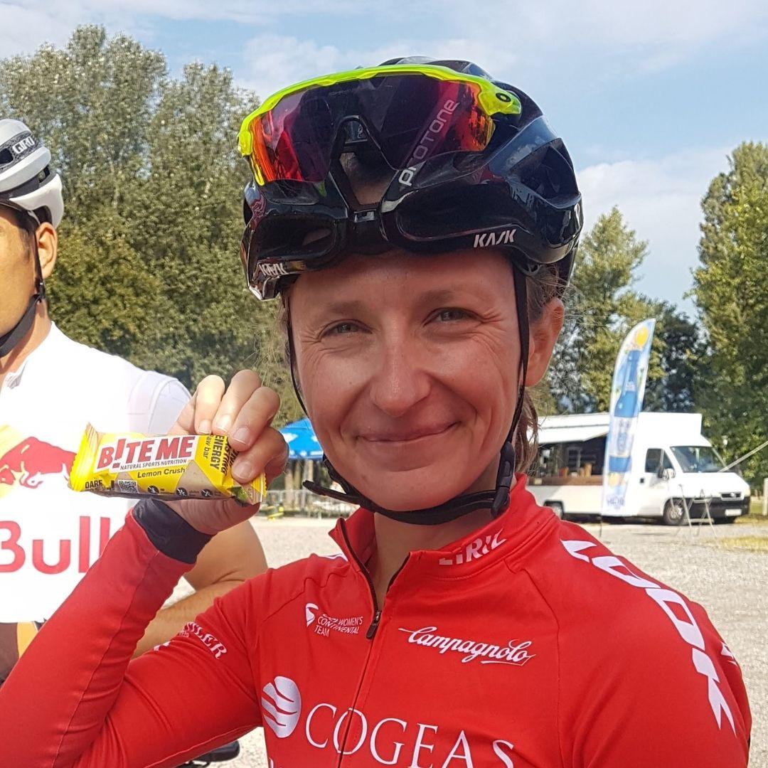 mia radotic biteme ambasador professional cyclist