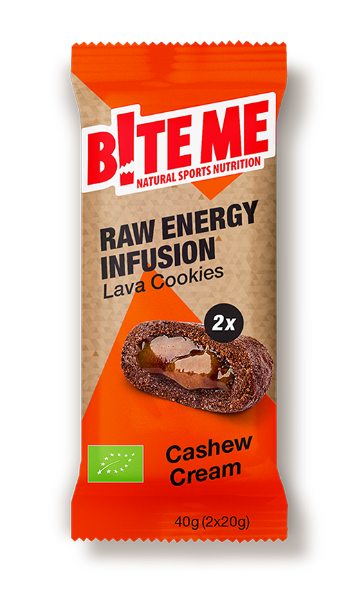 cashew cream lava cookies